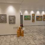 """Ausstellungsraum """" 3 Blickrichtungen"""" Bank Coop AG Chur / 2014"""